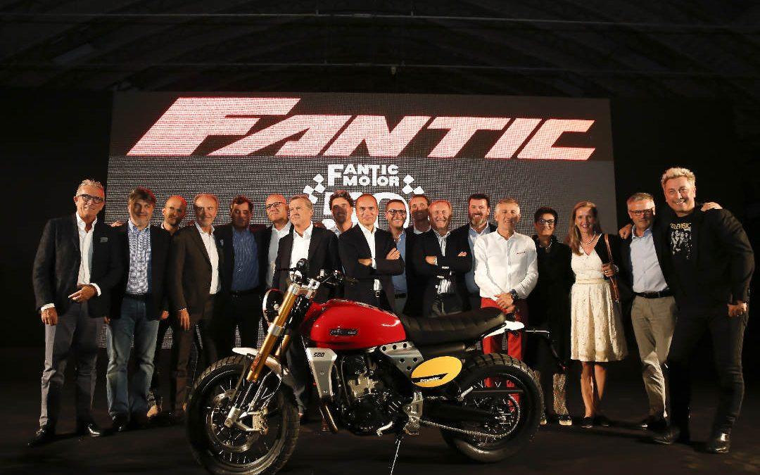 Fantic Motor sceglie Opendream per festeggiare i suoi cinquant'anni di successo